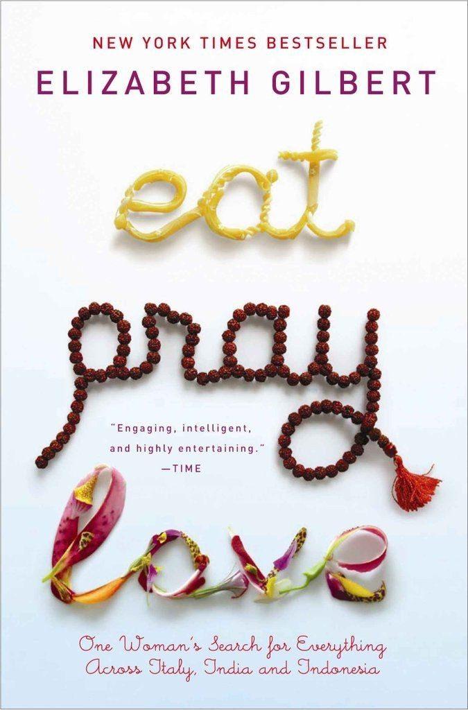 Eat Pray Love - travel book