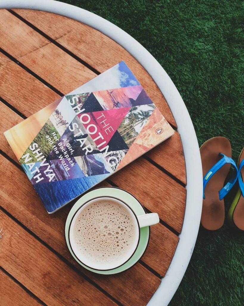 The shooting star, Travel book, Shivya nath